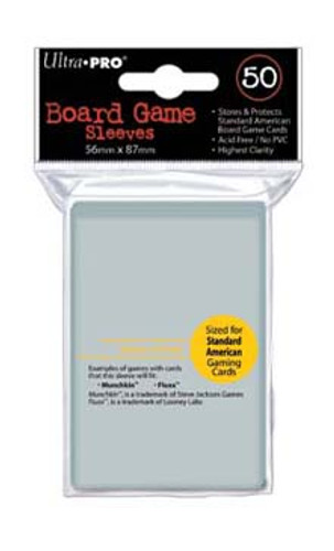 Ultra Pro Board Game Sleeve - American Standard - 50pk