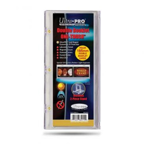 One Touch UV Card Holder - Double Booklet 185mm
