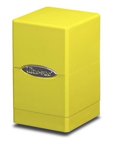 Satin Tower Deck Box - Yellow
