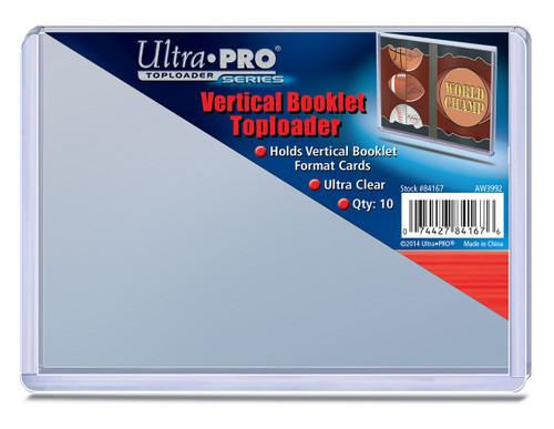 Top Loader Booklet - Vertical - (10 per pack)