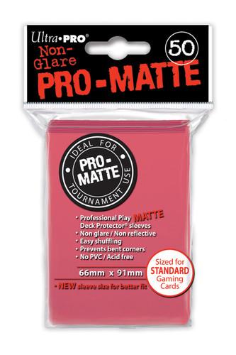 Deck Protector - Pro Matte - Fushia (12 packs of 50)