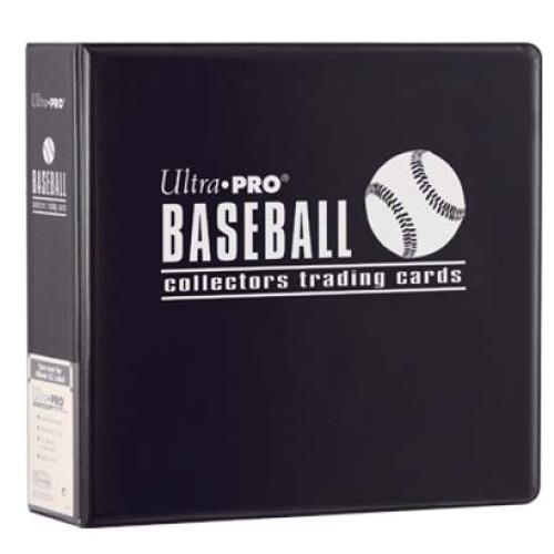 "3"" Baseball Album - Black - Ultra Pro"