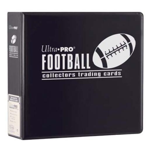 "3"" Football Album - Black - Ultra Pro"