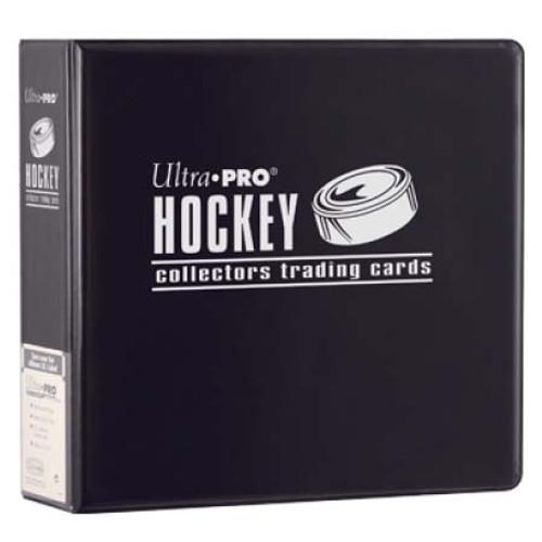 "3"" Hockey Album - Black - Ultra Pro"