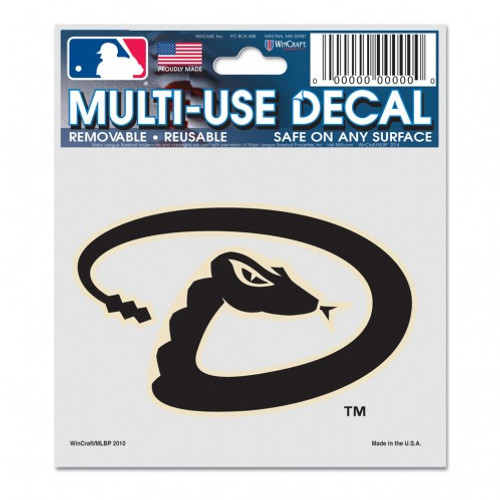 Arizona Diamondbacks Decal 3x4 Multi Use