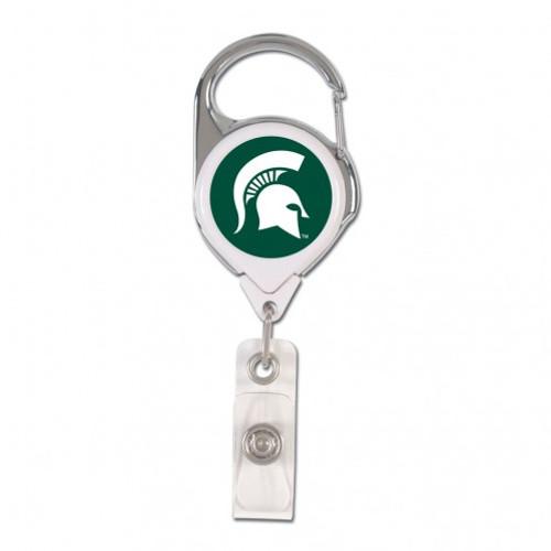 Michigan State Spartans Retractable Premium Badge Holder