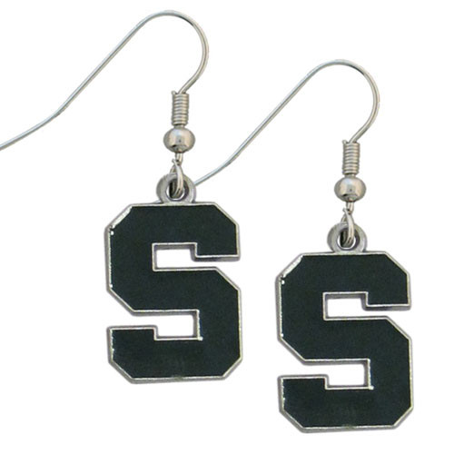 Michigan State Spartans Dangle Earrings