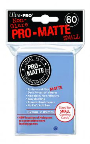 Deck Protector - Pro Matte Small Size - Clear (10 packs of 60)