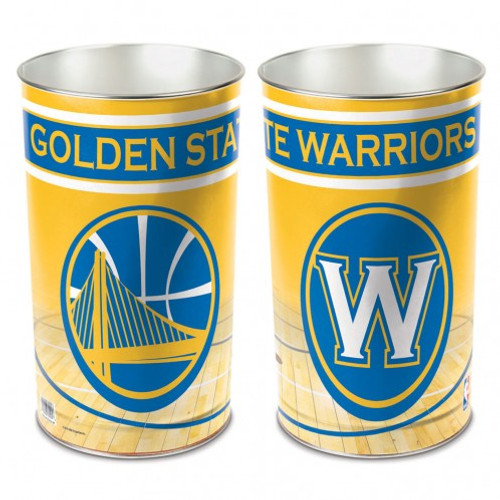 """Golden State Warriors 15"""" Waste Basket"""