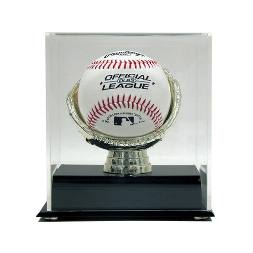Acrylic Gold Glove Baseball Display
