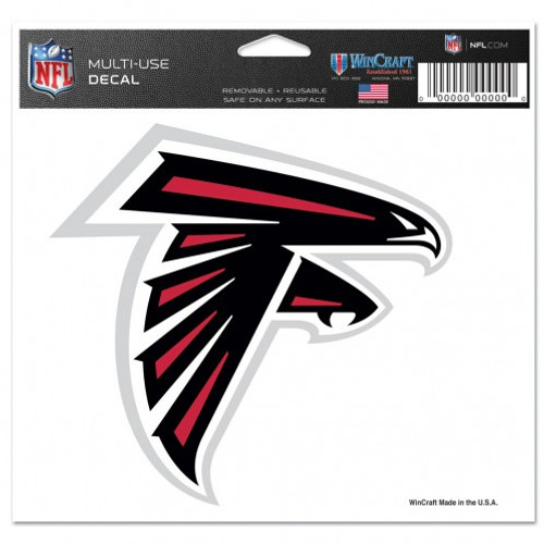 Atlanta Falcons Decal 5x6 Ultra Color Logo