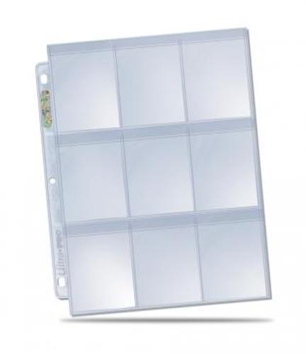 Ultra Pro 9-Pocket Secure Page - 100/box