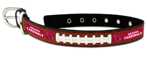 Arizona Cardinals Classic Leather Large Football Collar