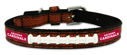 Arizona Cardinals Classic Leather Toy Football Collar
