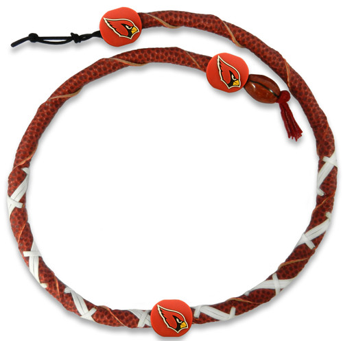Arizona Cardinals Classic NFL Spiral Football Necklace