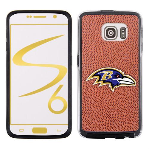 Baltimore Ravens Classic NFL Football Pebble Grain Feel Samsung Galaxy S6 Case