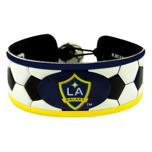Los Angeles Galaxy Classic Soccer Bracelet