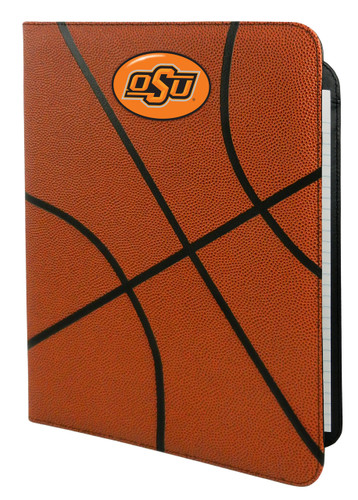 Oklahoma State Cowboys Classic Basketball Portfolio - 8.5 in x 11 in