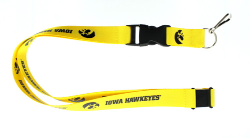 Iowa Hawkeyes Lanyard - Gold