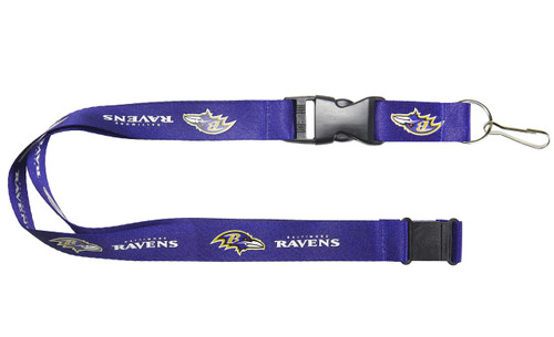 Baltimore Ravens Lanyard - Purple