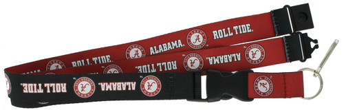 Alabama Crimson Tide Lanyard - Reversible