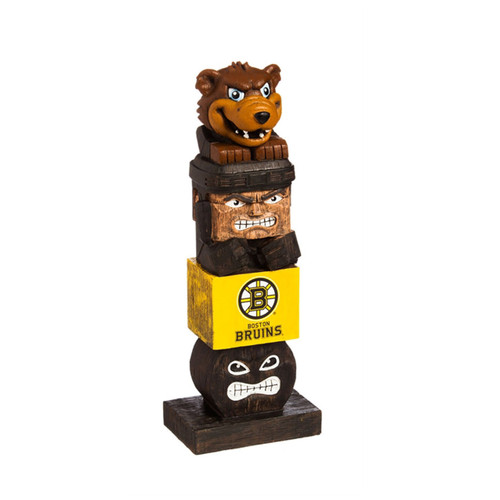 Boston Bruins Tiki Totem