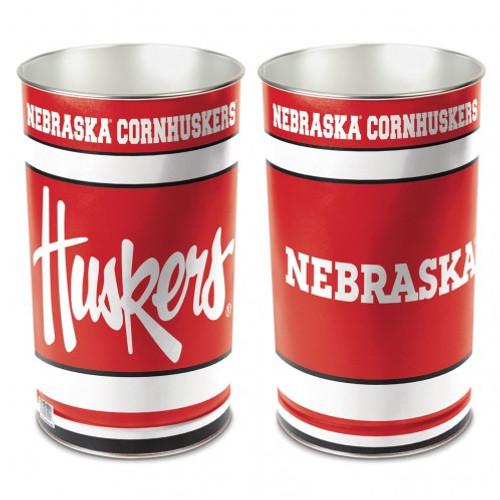 "Nebraska Cornhuskers 15"" Waste Basket"