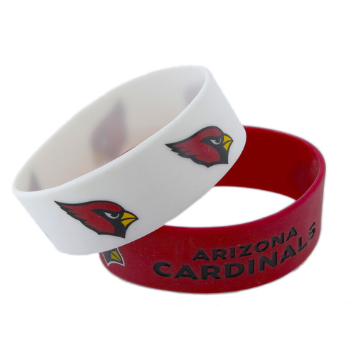 Arizona Cardinals Bracelets - 2 Pack Wide