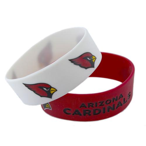 Arizona Cardinals Bracelets - 2 Pack Wide