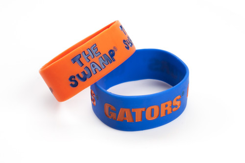 Florida Gators Bracelets - 2 Pack Wide