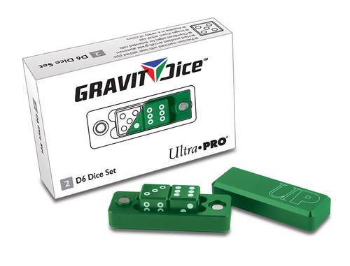 Ultra Pro Dice - D6 2pc Set - Emerald