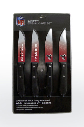Atlanta Falcons Knife Set - Steak - 4 Pack