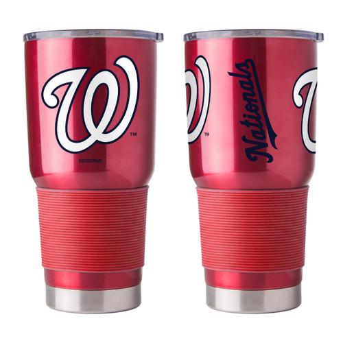 Washington Nationals Travel Tumbler 30 oz Ultra Flared Red