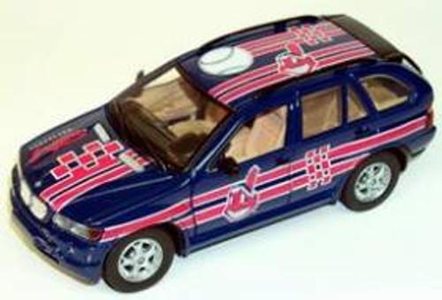 Cleveland Indians Fleer Collectibles 2002 BMW X-5