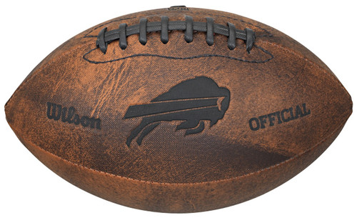 Buffalo Bills Football - Vintage Throwback - 9 Inches