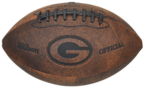 Green Bay Packers Football - Vintage Throwback - 9 Inches