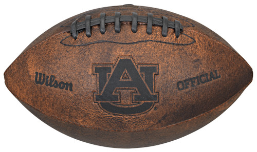Auburn Tigers Football - Vintage Throwback - 9 Inches
