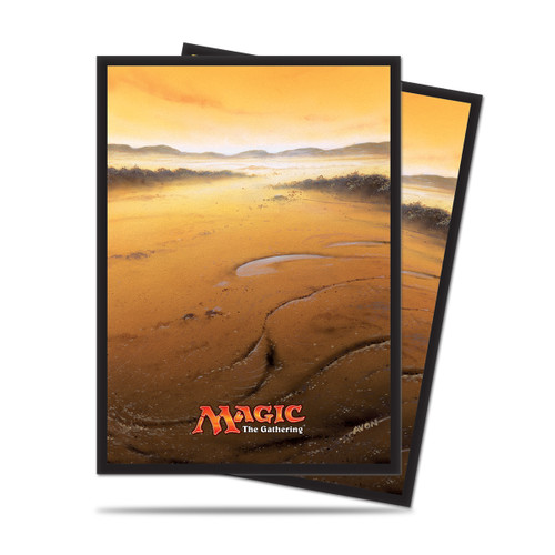 Magic Deck Protector - Mana #5 Plains (White) 80 per pack
