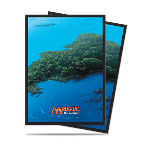 Magic Deck Protector - Mana #5 Island (Blue) 80 per pack