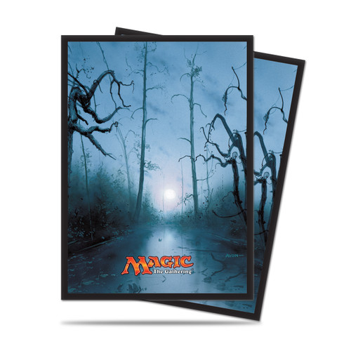 Magic Deck Protector - Mana #5 Swamp (Black) 80 per pack