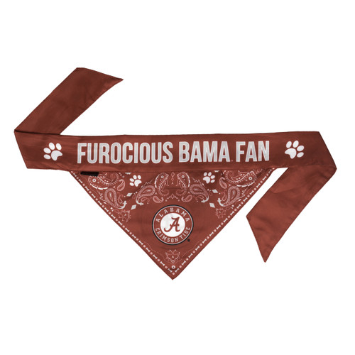 Alabama Crimson Tide Pet Bandanna Size M