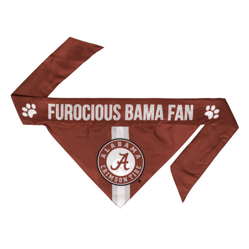 Alabama Crimson Tide Pet Bandanna Size XS