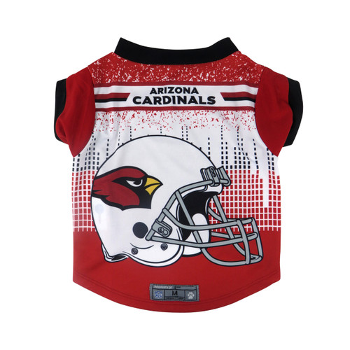Arizona Cardinals Pet Performance Tee Shirt Size L