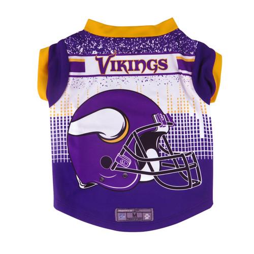 Minnesota Vikings Pet Performance Tee Shirt Size XS