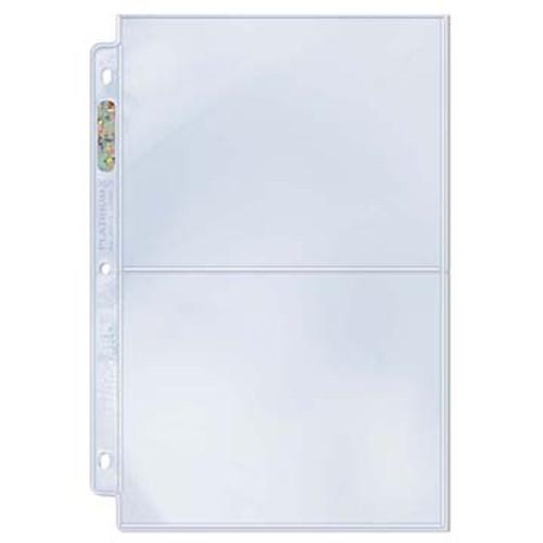 Ultra Pro Page 2-Pocket 5x7 (Case of 300)