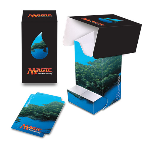 Magic Deck Box - Mana Blue #5