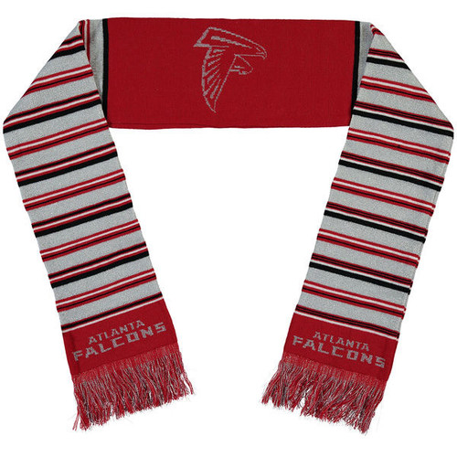 Atlanta Falcons Glitter Stripe Scarf