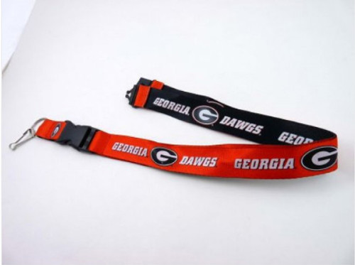 Georgia Bulldogs Lanyard - Reversible