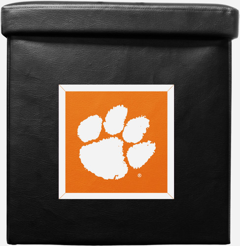 Clemson Tigers Ottoman Foldable