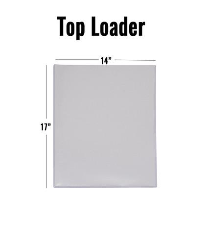 Top Loader - 14 x 17 - (10 per pack)